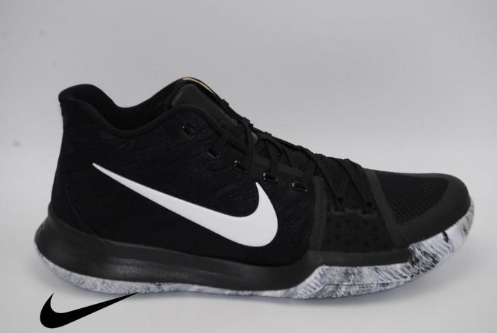 Nike Kyrie BHM basketball Black Incorporates history mont double boxed White Mens Black whiteBlack Shoes FNOTUW3678